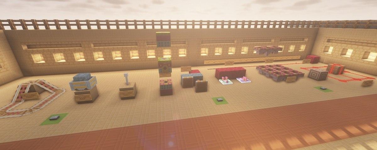 PastelCraft resourcepack redstone blocks