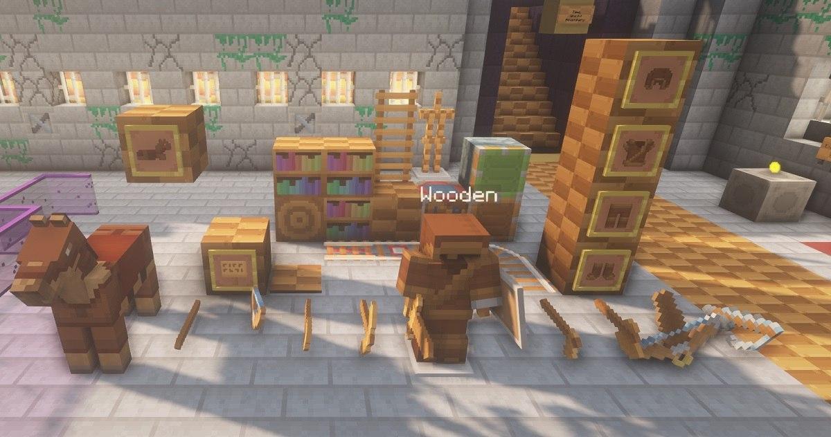 PastelCraft resourcepack wooden gear