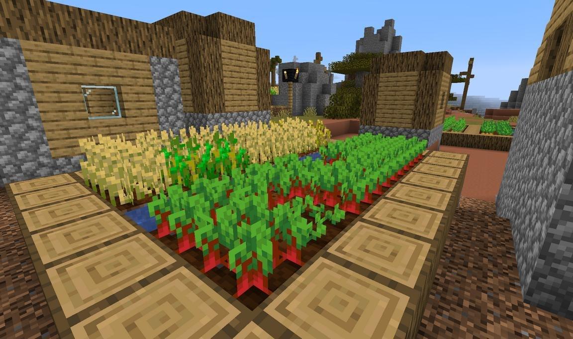 pureBDcraft compare default uprawy