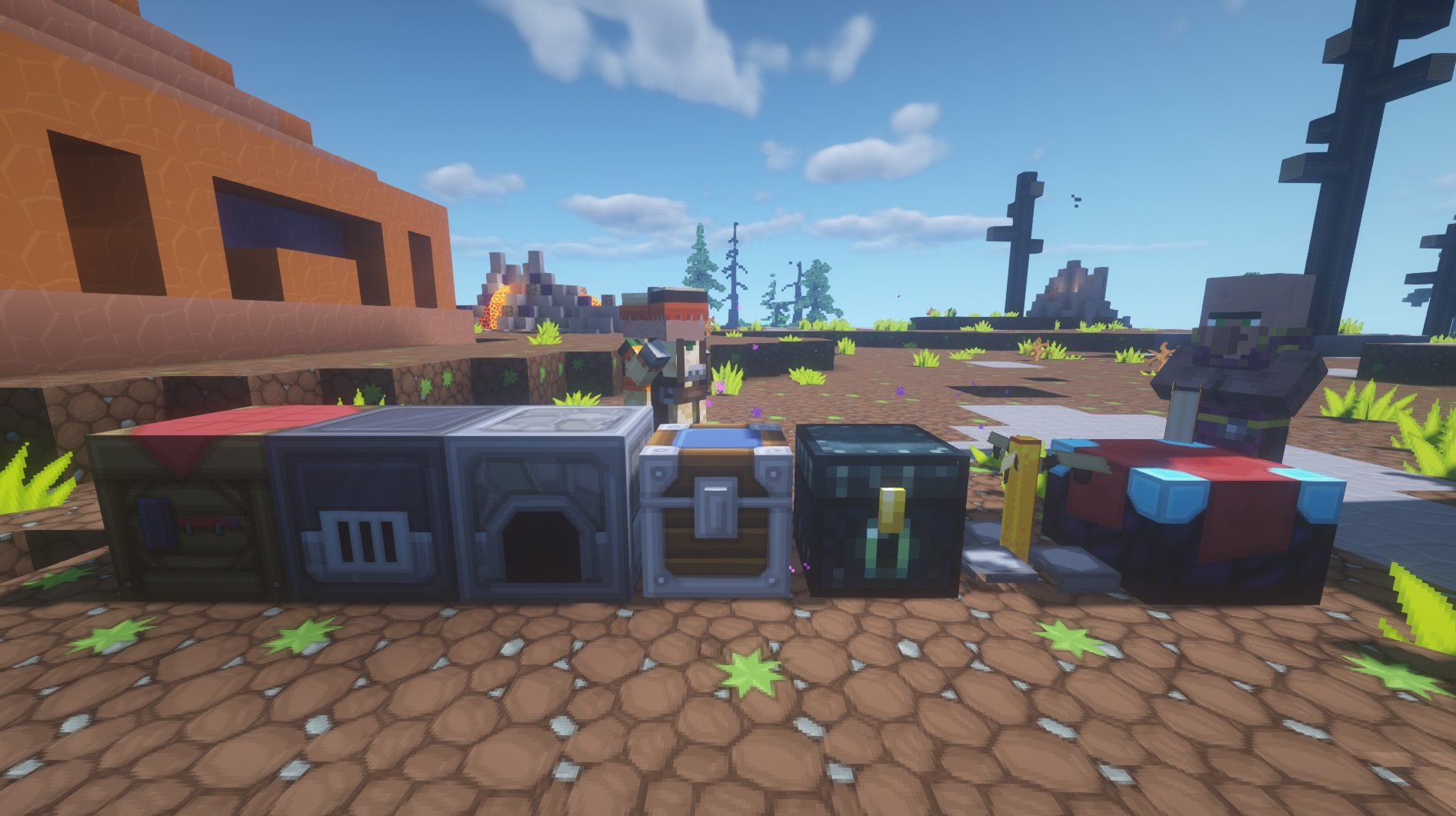 SapixCraft tekstury minecraft bloki techniczne