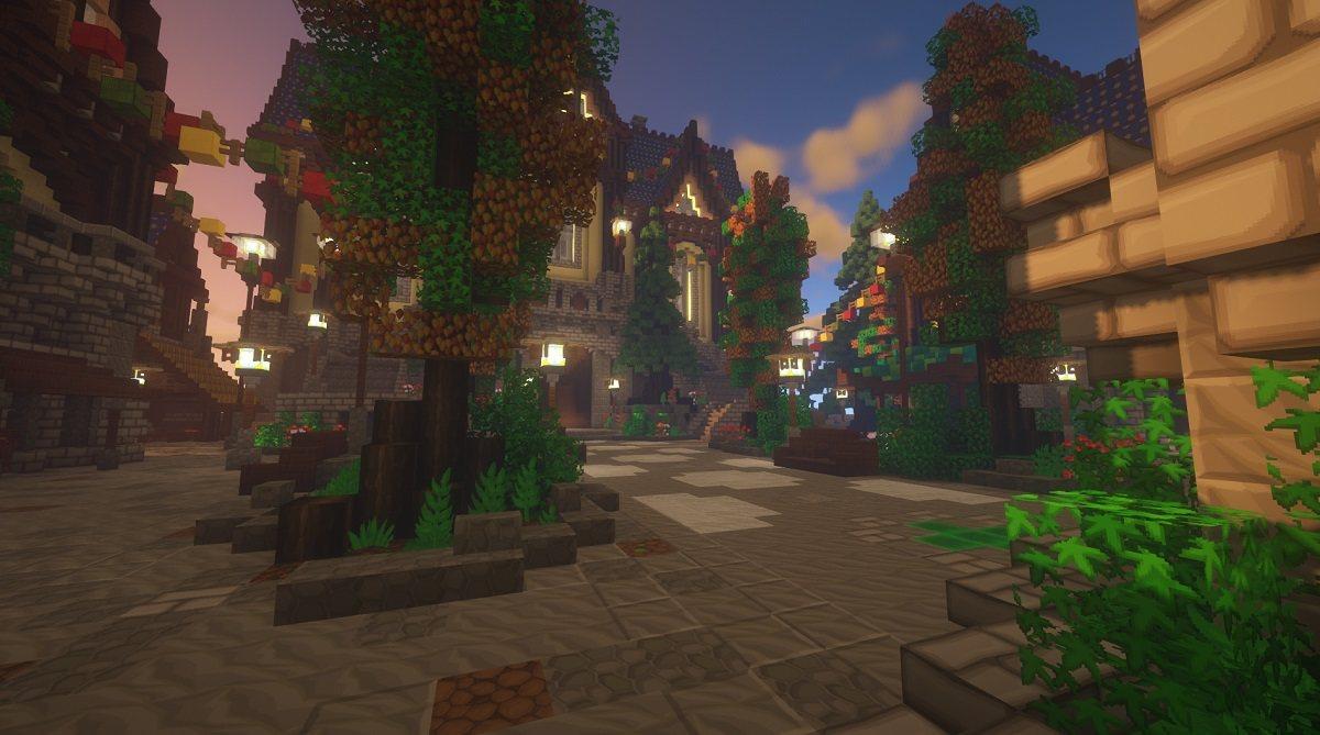 SapixCraft tekstury minecraft serwer lobby mc mineland pl