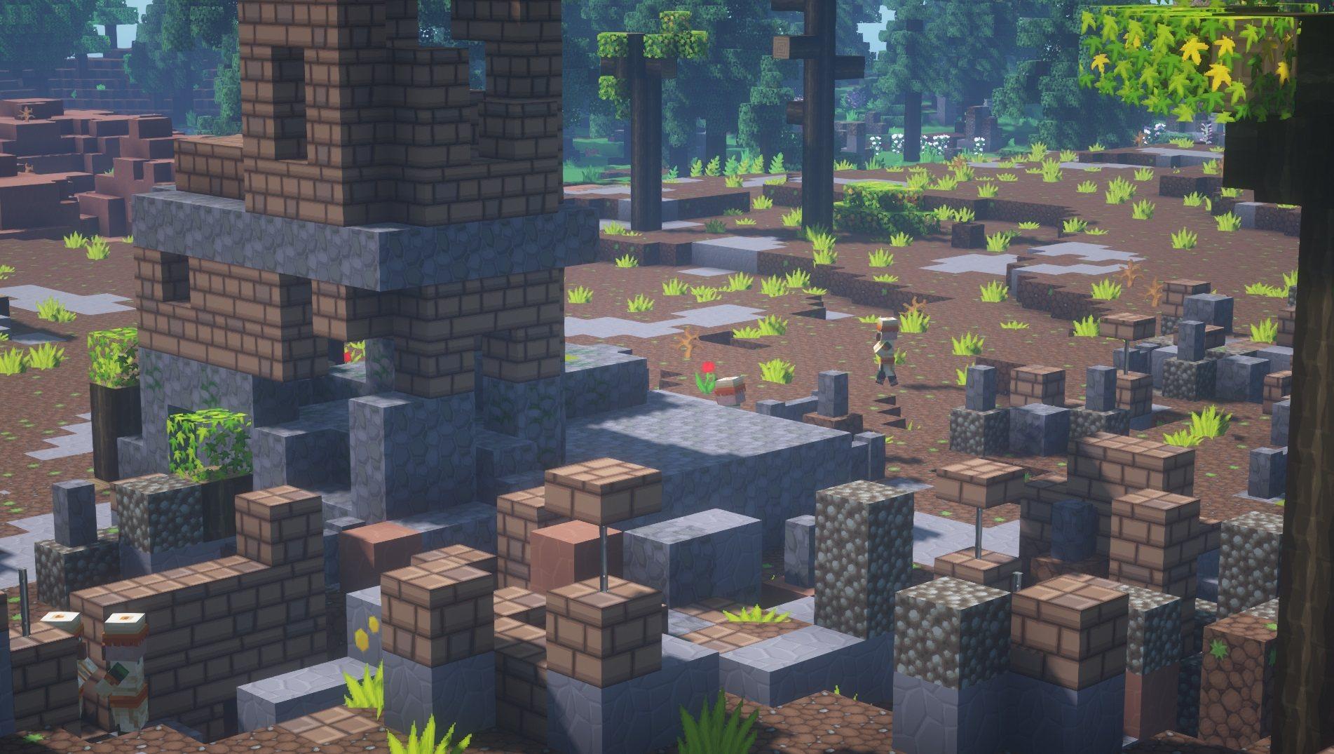 SapixCraft tekstury minecraft villager ruiny wioski
