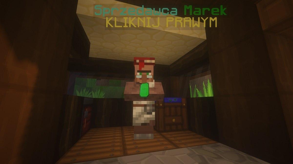 SapixCraft tekstury minecraft villager sprzedawca npc serwer