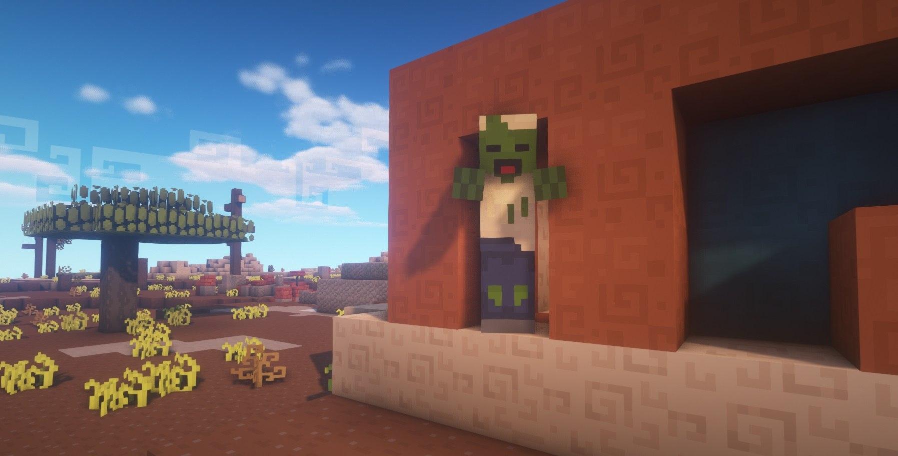 the find overgrown tekstury 1.15.1 1.14.4 zombie