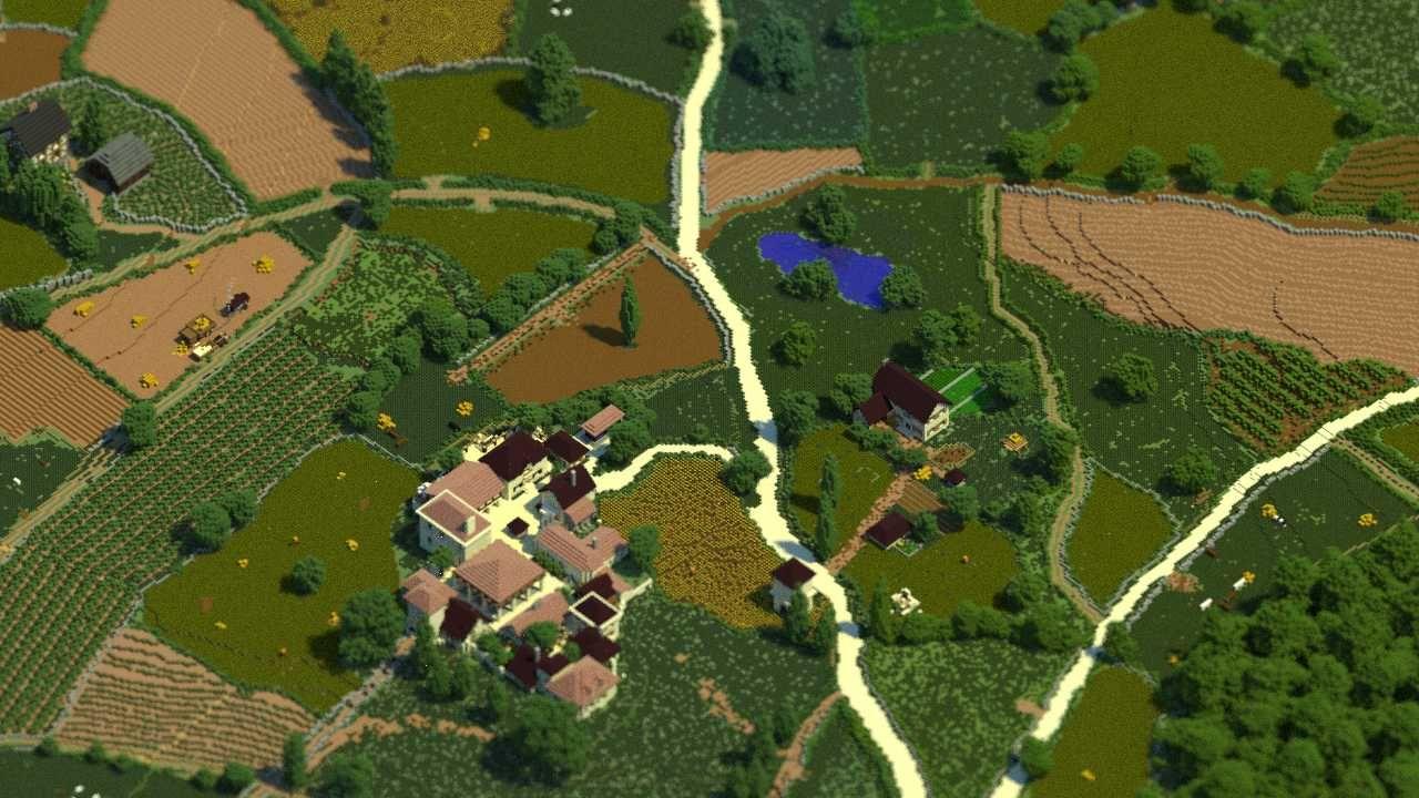 19 wieczne miasto w minecraft galeria 3