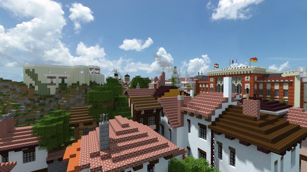 19 wieczne miasto w minecraft galeria 5