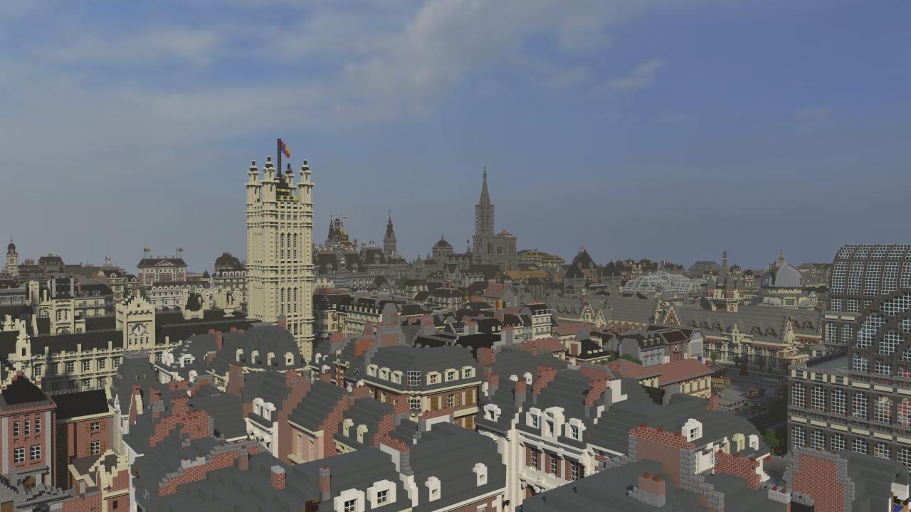 19 wieczne miasto w minecraft galeria 8