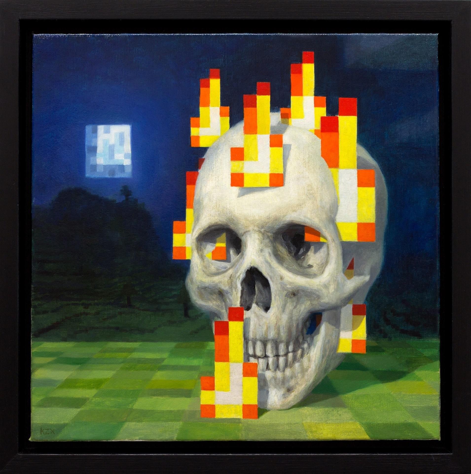 seed skull on fire odnaleziony