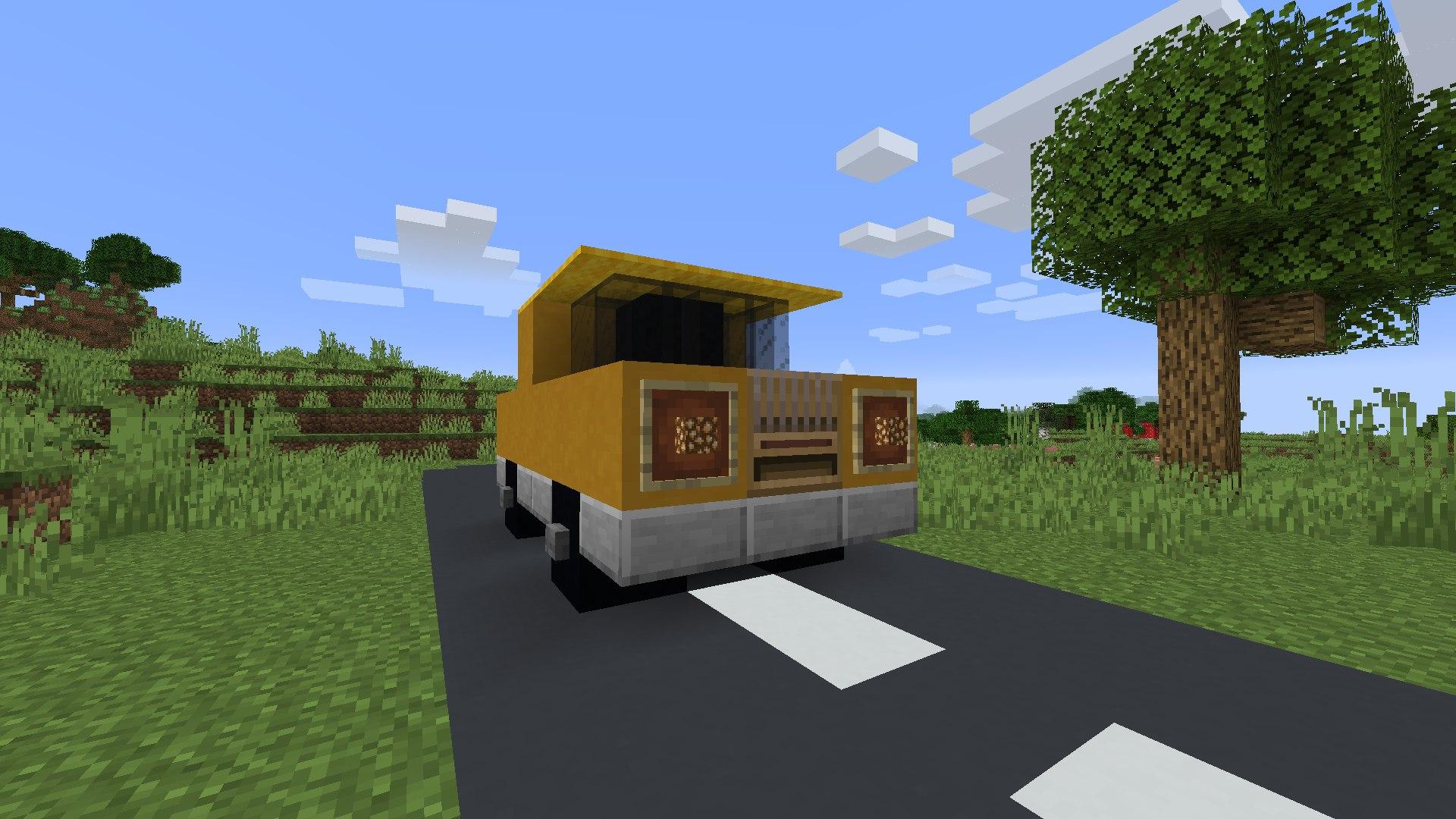 warsztat tkacki jako silnik samochodu minecraft buildhakcs 2
