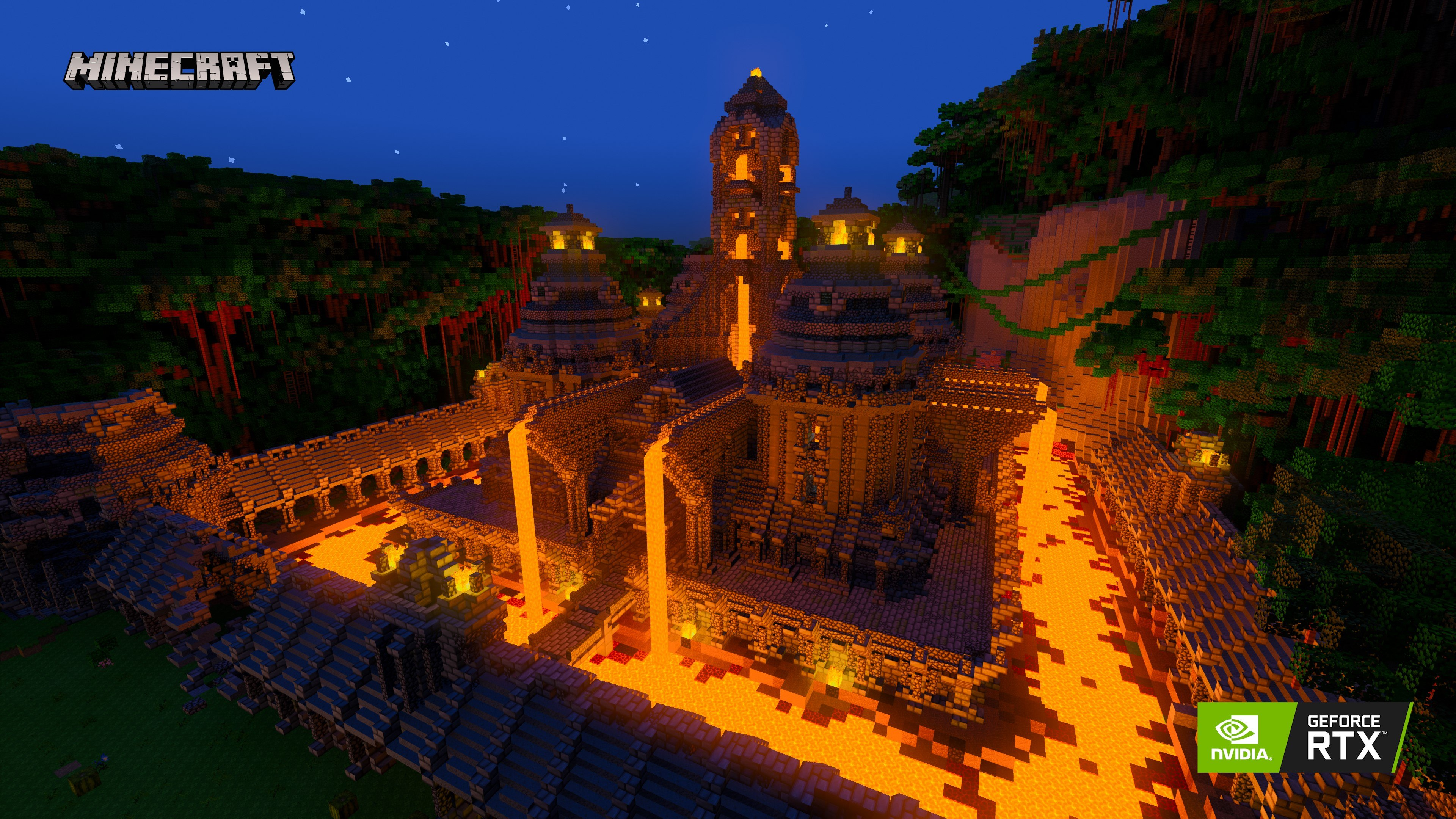 Minecraft RTX Of Temple and Totems