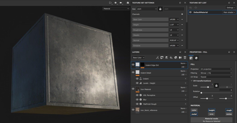 SubPainter IronIndentDirt tekstury minecraft RTX