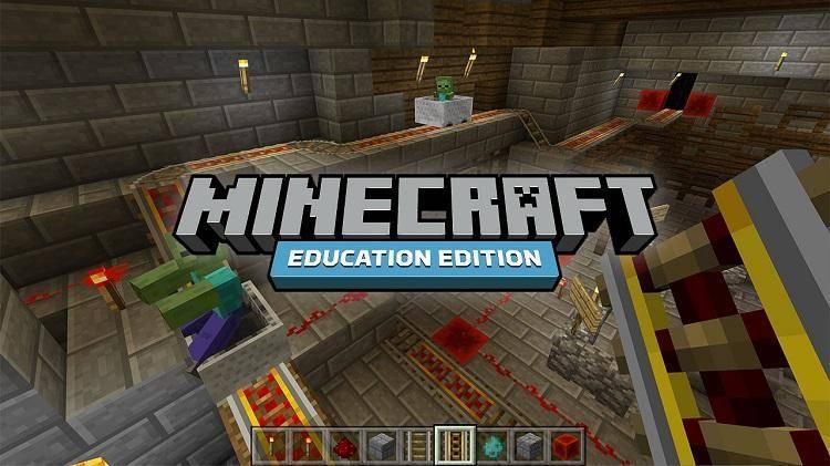minecraft edu edition uczy dzieci