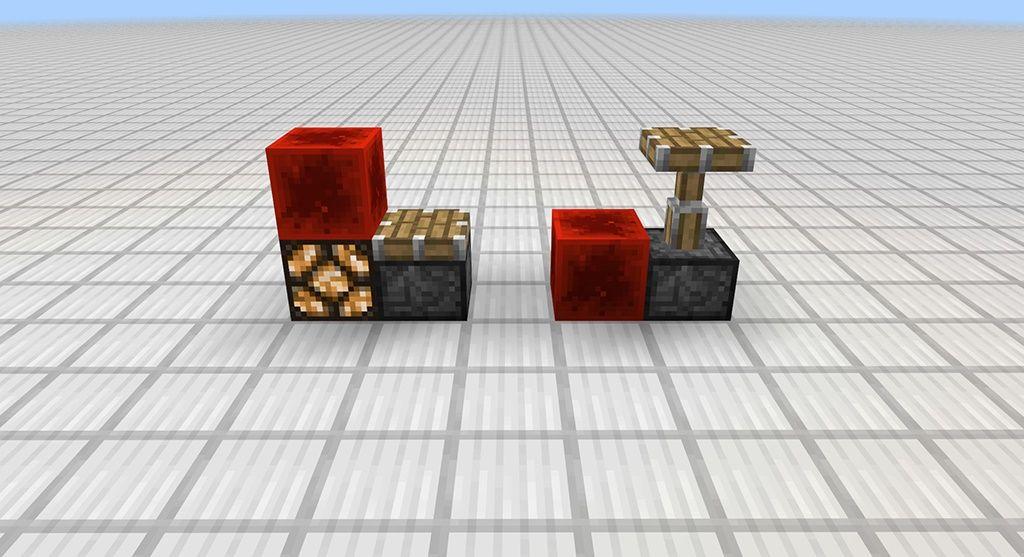 redstone mcpe quasi connectivity piston