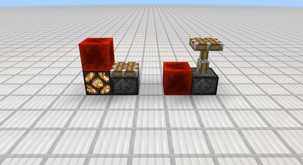 redstone mcpe quasi connectivity piston