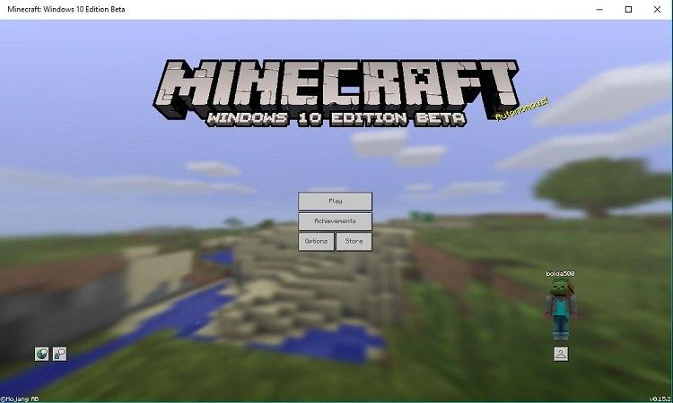 windows 10 rok minecraft