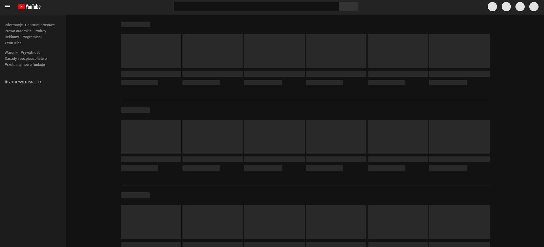 youtube down nie dziala youtube