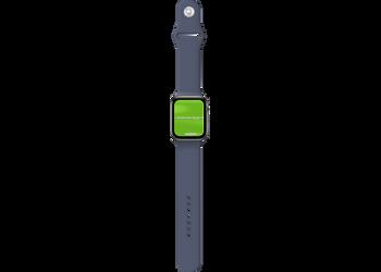 Apple Watch Opensteelblue | Mockuper.net