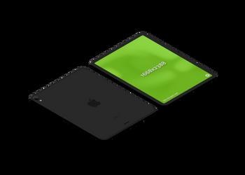 iPad pro black | Mockuper.net