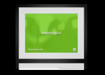 Black Frame | Mockuper.net