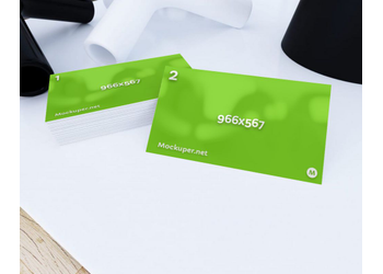 Business cards | Mockuper.net