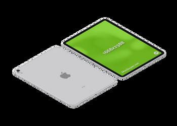 iPad pro silver | Mockuper.net