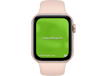 Apple Watch Closedlightpink | Mockuper.net