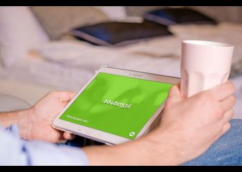 Tablet Samsung | Mockuper.net