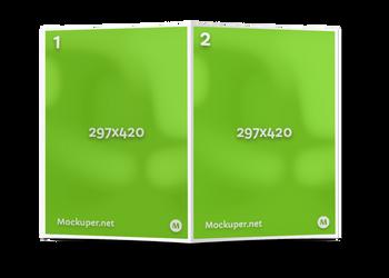 A3 brochure back | Mockuper.net