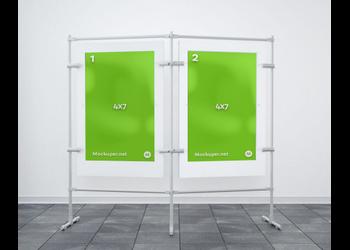 Two posters frames | Mockuper.net