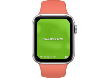 Apple Watch Closedsalmon | Mockuper.net
