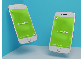 phone & phone | Mockuper.net