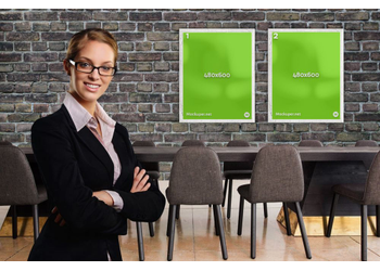 Businesswoman posters | Mockuper.net