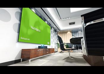 Meeting room display | Mockuper.net