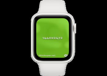 Apple Watch Closedwhite | Mockuper.net