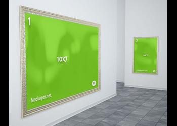 Wall frames | Mockuper.net