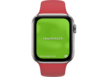 Apple Watch Closedred | Mockuper.net