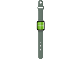 Apple Watch Opendarkseagreen | Mockuper.net