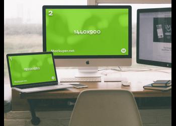 iMac & MacBook | Mockuper.net