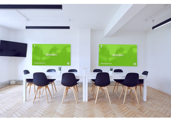 Meeting room boards | Mockuper.net
