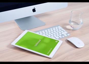 White iPad Mini | Mockuper.net
