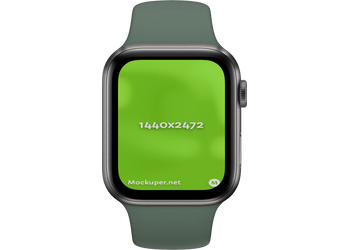 Apple Watch Closeddarkseagreen | Mockuper.net