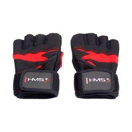 Training gloves RST02 BLACK / RED HMS SIZE S