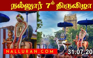 Nallur 2020 festival day 07 pm
