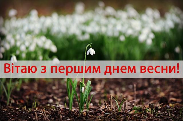 З першим днем весни: красиві привітання та яскраві листівки