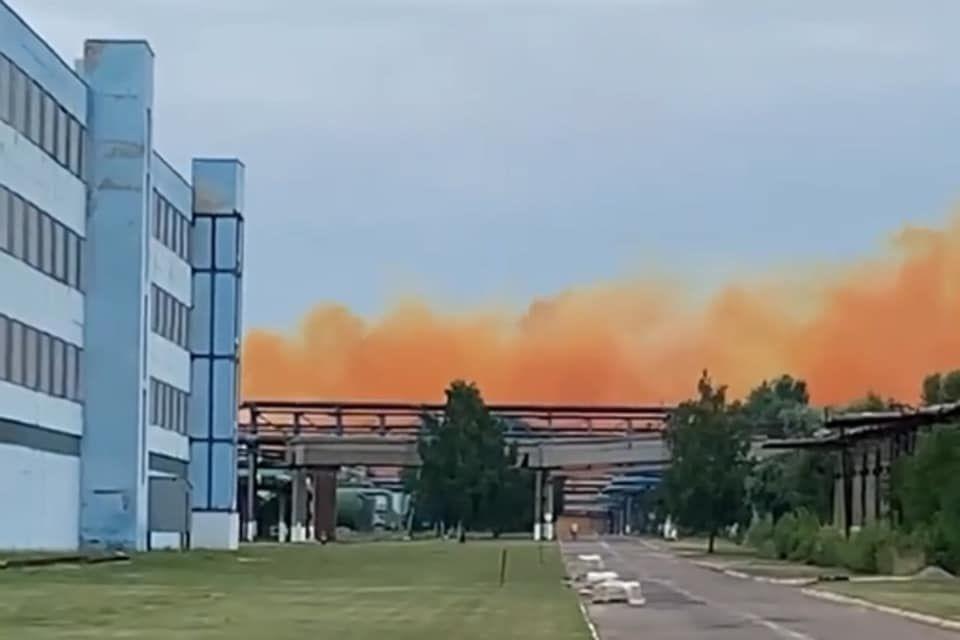 Аварія на хімзаводі під Рівним: українців попередили про кислотні дощі
