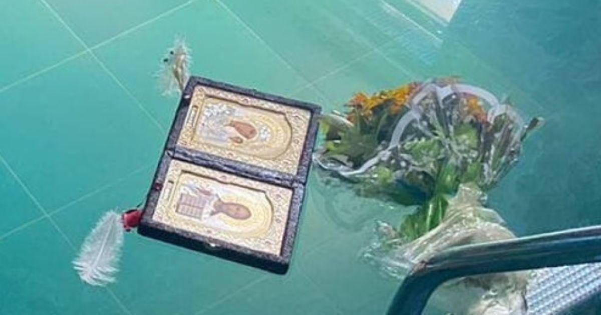 У воді плавали ікона, пір'я і букет: у Кривому Розі в басейні знайшли тіла двох людей
