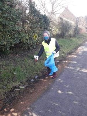 """Campaign """"Cleaning our environment"""" (Belgium)"""