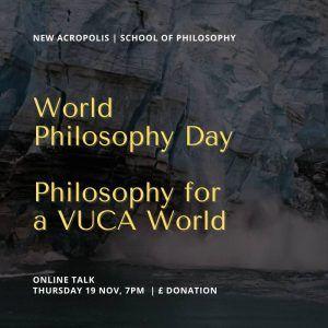 Charla online: Filosofía para un mundo VUCA (Londres, Reino Unido)