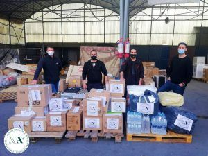 Help to the earthquake victims in Elassona (Attica, Greece)