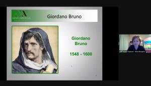 Conferencia online sobre la vida y obra de Giordano Bruno (Bratislava, Eslovaquia)